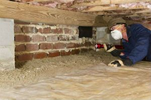 crawlspace work